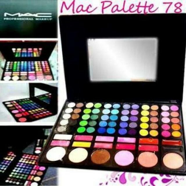 MAC Pallet 78 Warna