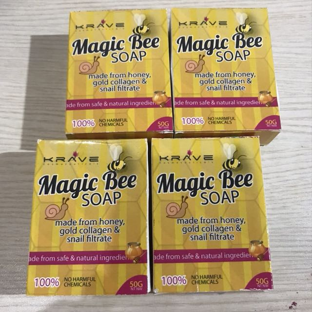 Magic Bee Soap For Acne by Krave Minerals