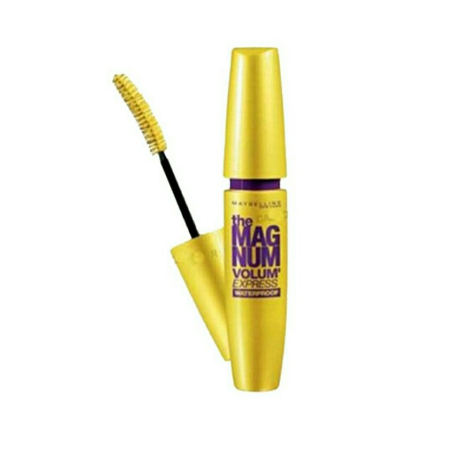Maybelline Volum Express Magnum Waterproof Mascara (Black)