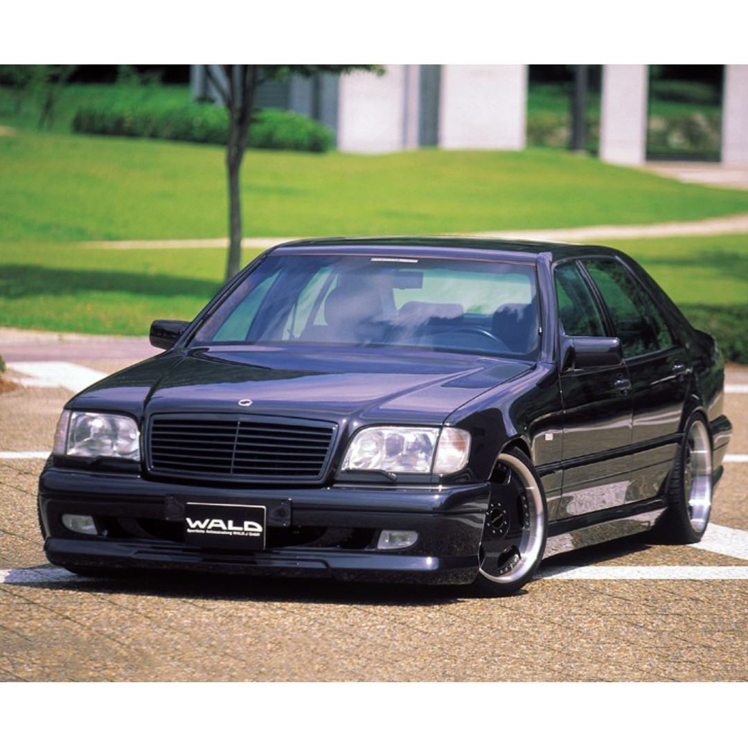 Mercedes Benz S Class W140 Wald V4 Bodykit, Auto Accessories on ...