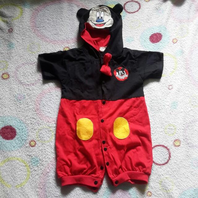 Mickey Mouse Onesie Costume