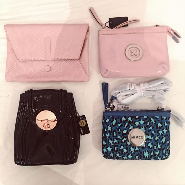 MIMCO Wallets, Bags, Secret Couch & Phone Cases FOR SALE (Prices Vary)