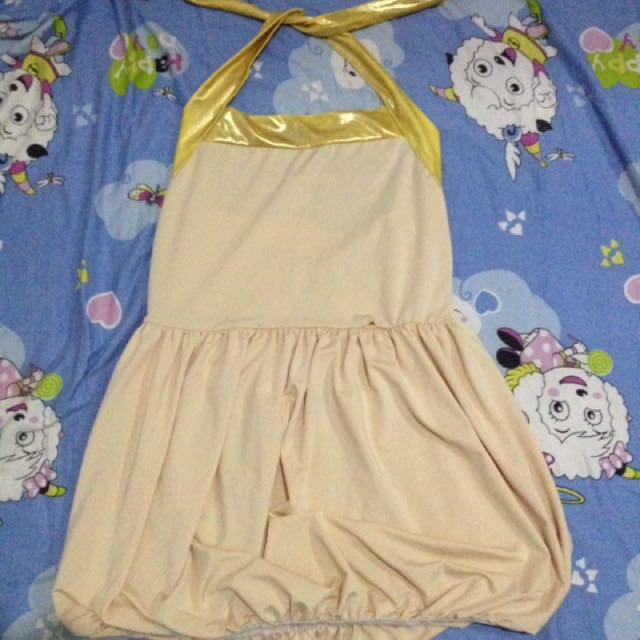 Mini dress back less