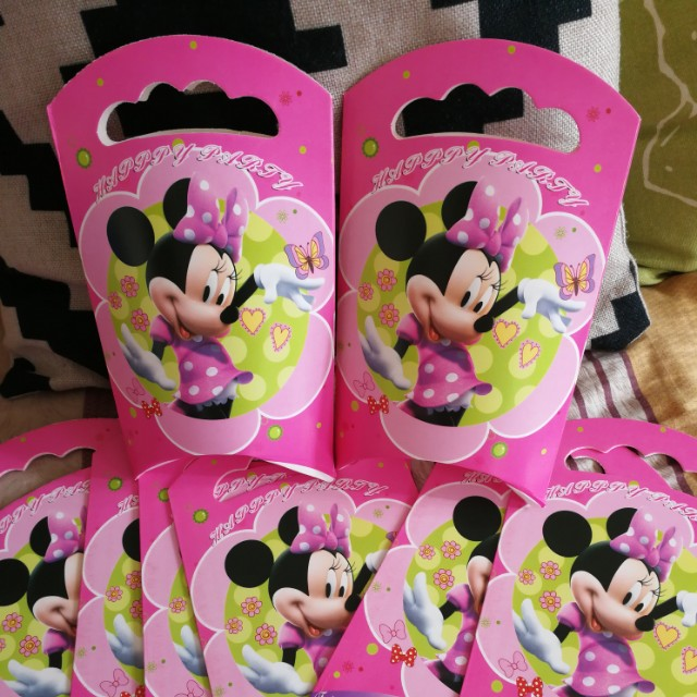Minnie Mouse Party Loot Bag