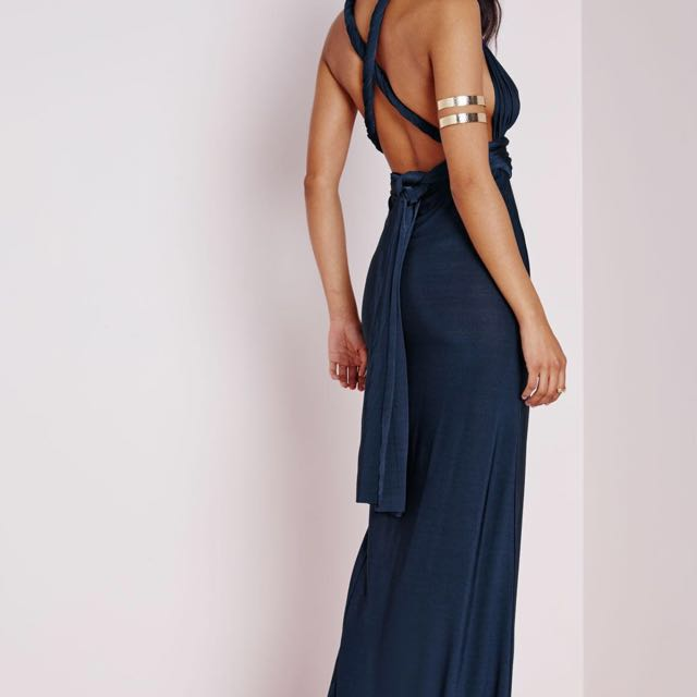 Misguided formal multiway dress