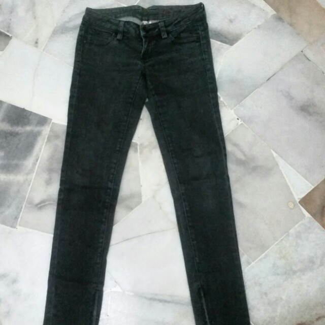 MNG ZIPPED JEANS