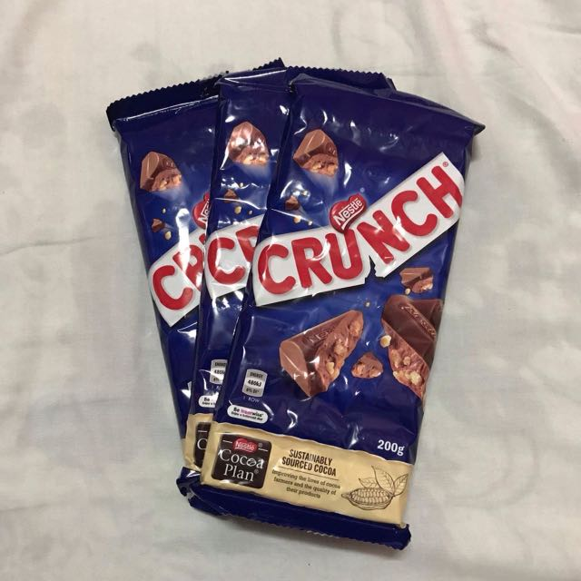 Nestle Crunch Bar 200g