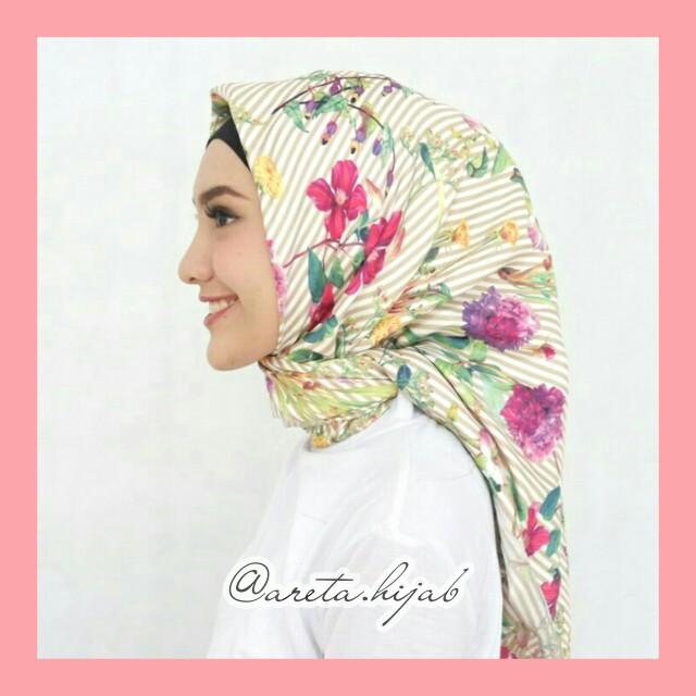 NEW Hijab Segi Empat Maxmara Premium Harga Murah Motif Gak Pasaran
