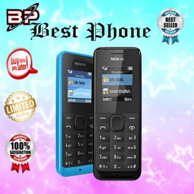Nokia Seri 105 Garansi 1 bulan