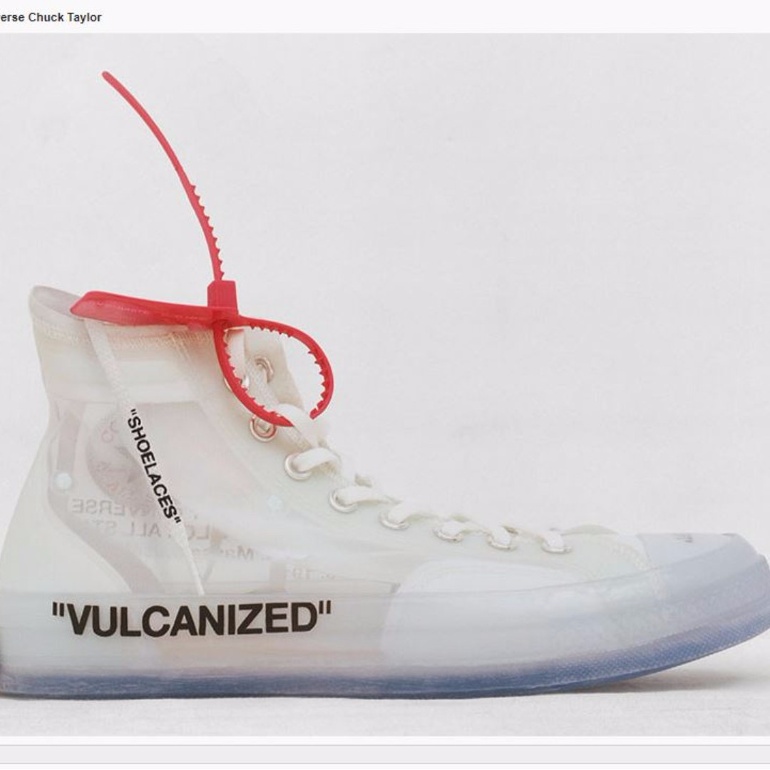Off white x Converse Chuck Taylor vulcaniz eu46 5 us12 uk12