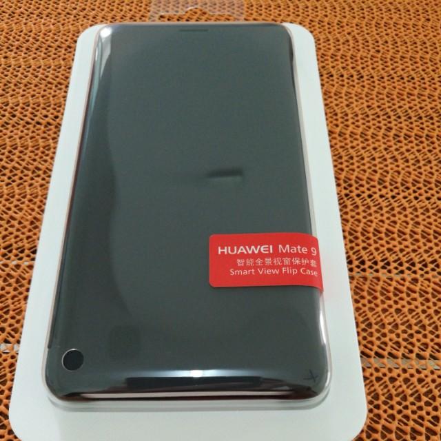 Original Huawei Mate 9 smart view flip case