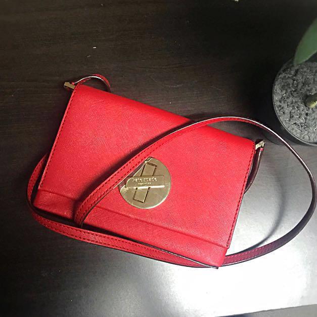 ORIGINAL RED KATE SPADE SMALL BAG