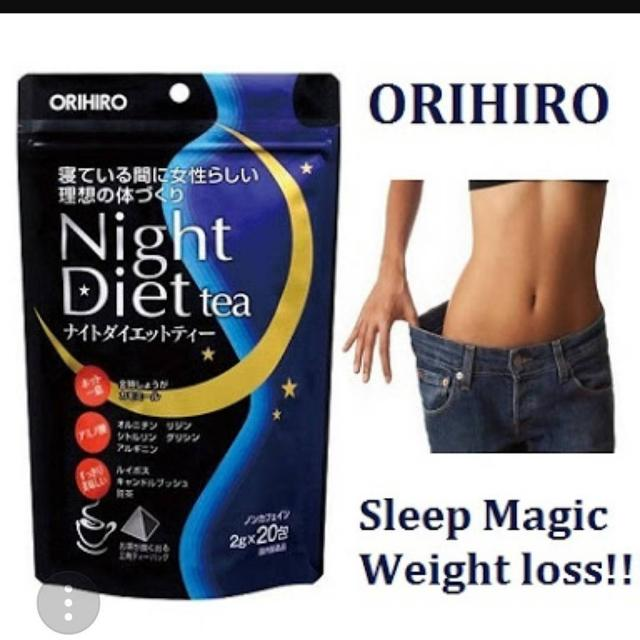 Orihiro night diet tea original japan
