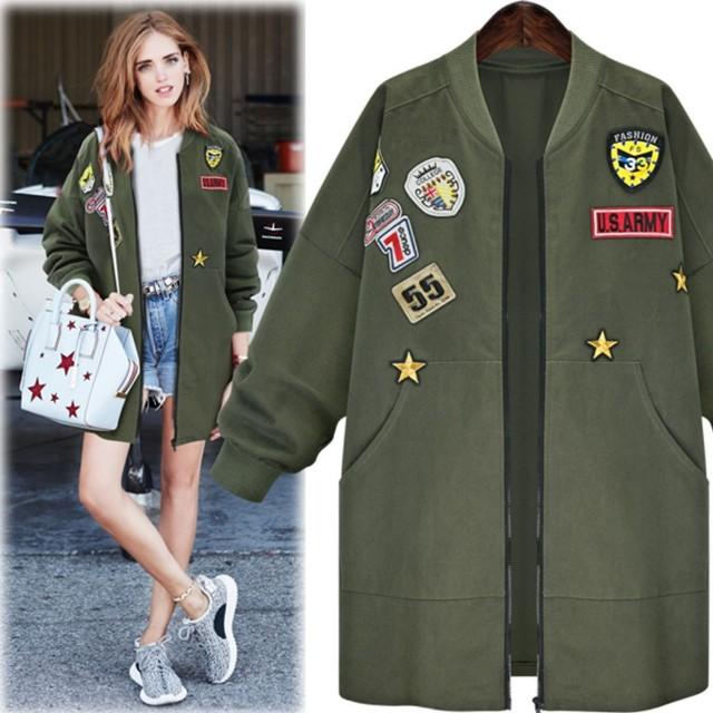 Outer parka coat army import bangkok