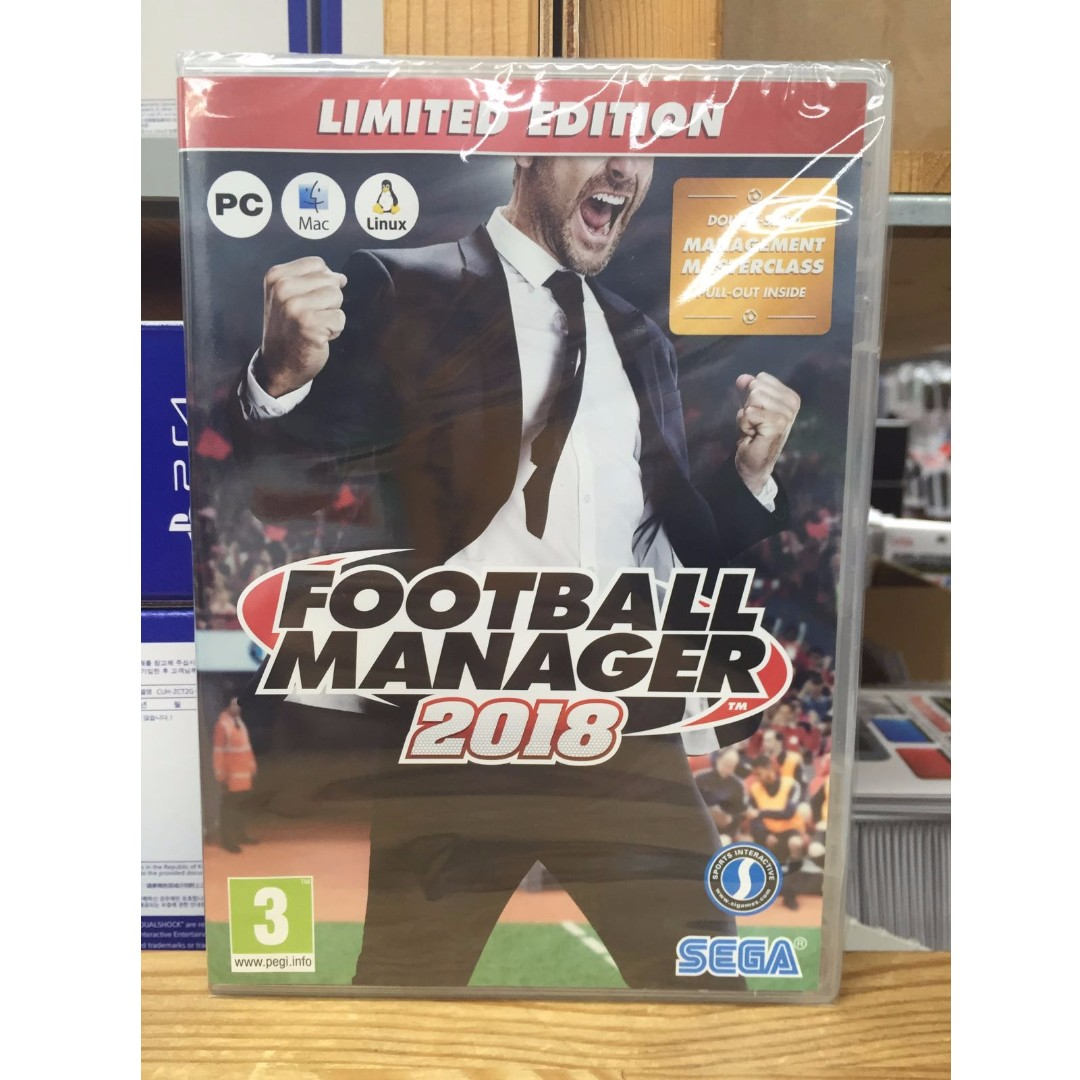 Pc Football Manager 2018 Toys Games Video Gaming Video Games On