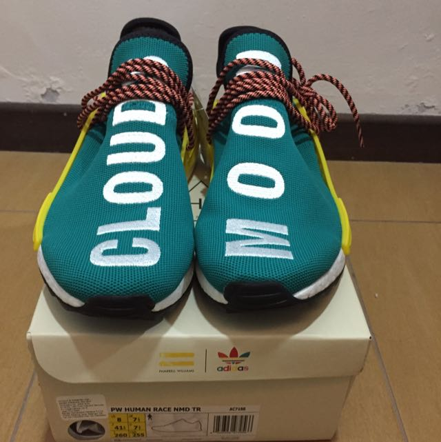 207b44614 Pharrell Williams x NMD HU Trail Human Race Sunglow