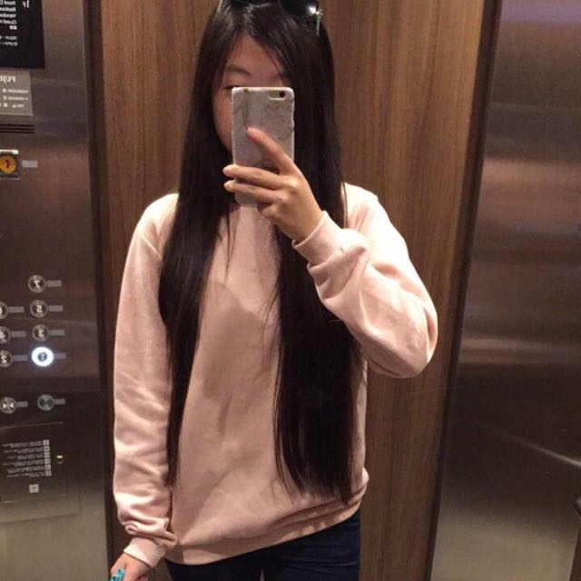Pink jumper from Taiwan