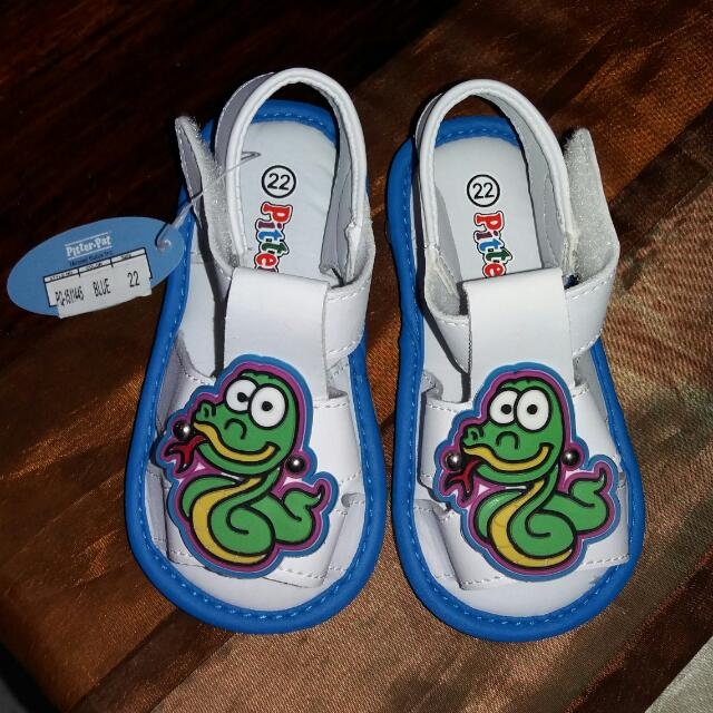 Pitter Pat squeaking Shoes / Pre Walker Shoes