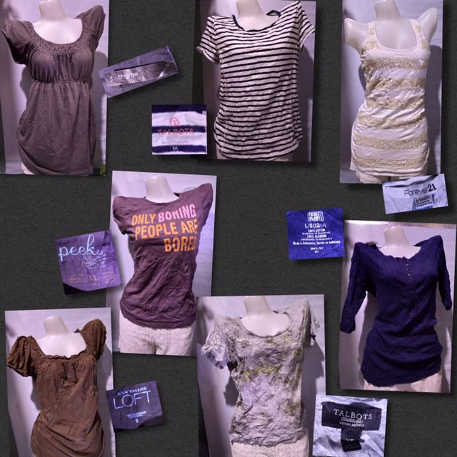 Pre-love Tops 100 each or 2 for 180