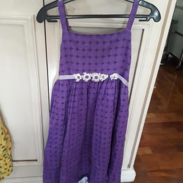Purple lace dress by rajo laurel