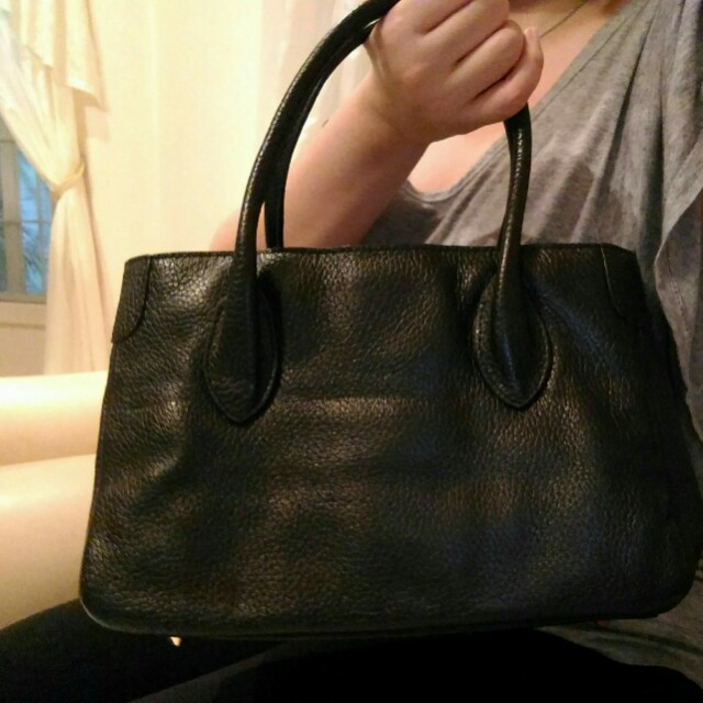 Rabeanco Serena Mini Leather Tote Bag