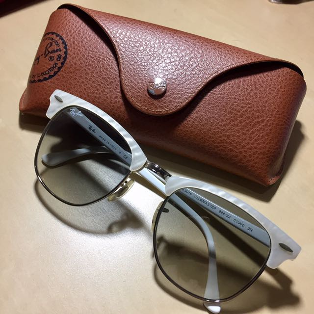 ray ban clubmaster accessories