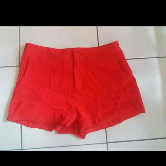 Red Semi HW shorts