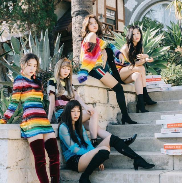 Red Velvet 2nd Album Peek A Boo Photobook Poster
