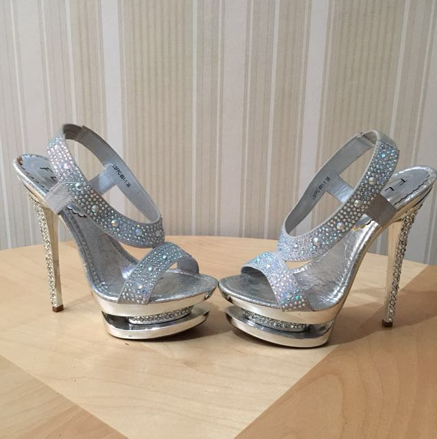 #reprice FLADEO SILVER BLINK PARTY SHOES