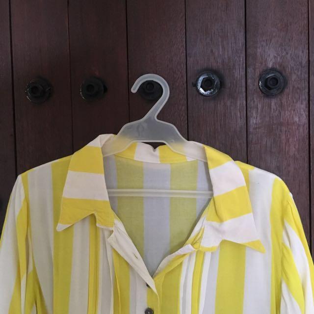 [SALE] Oversized Polo (Yellow)