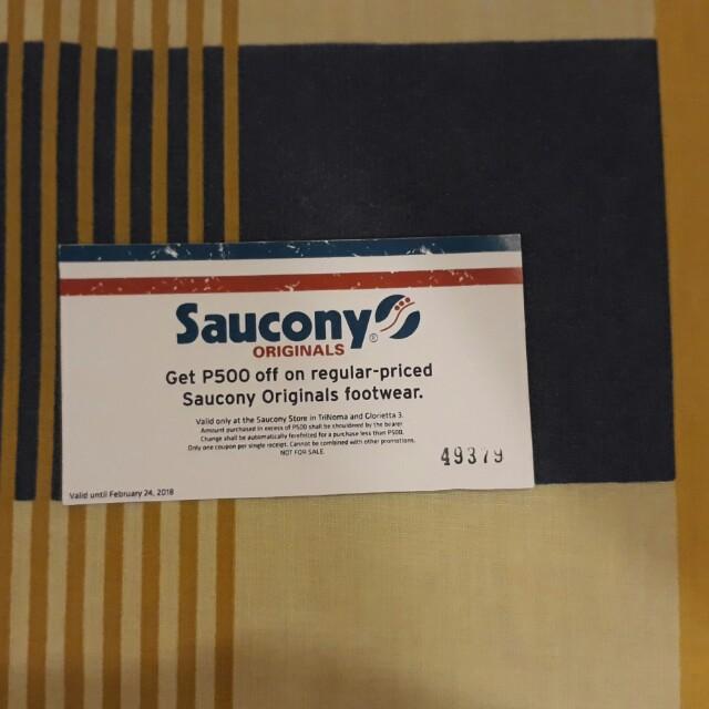 Saucony P500 Gift Voucher