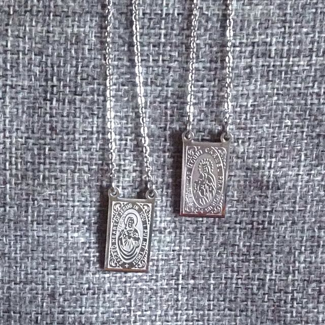 Scapular - Sacred Heart of Jesus and Our Lady of Mount Carmel