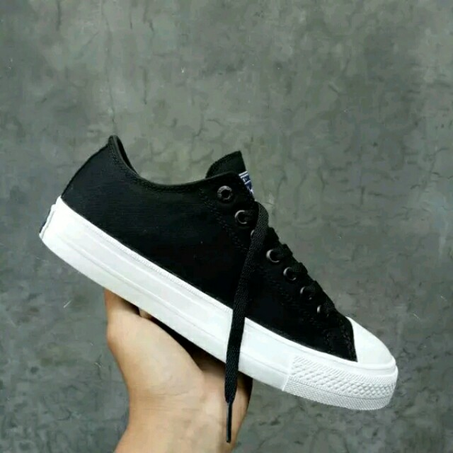Sepatu Converse All Star CT2 Chuck Taylor II Lunarlon High Black ... 54353d8cd