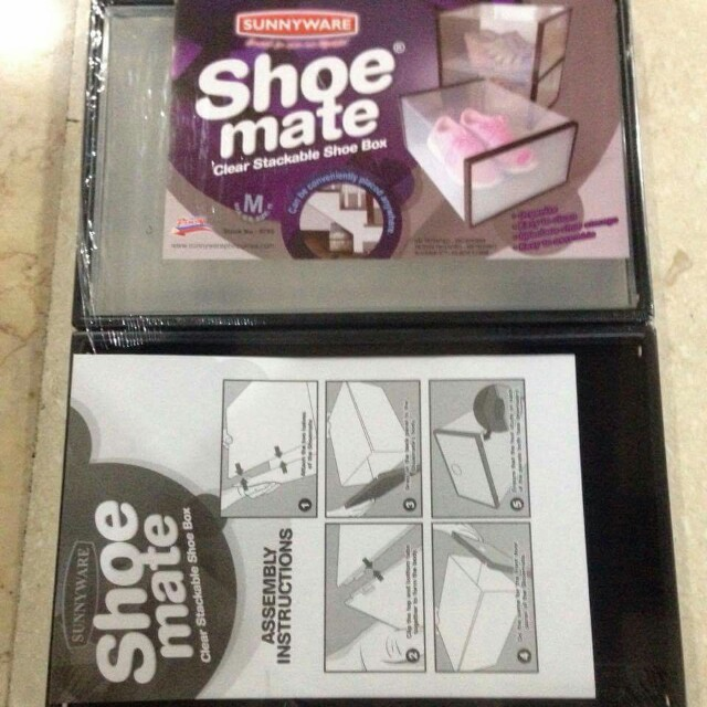 Shoemate Shoe Box