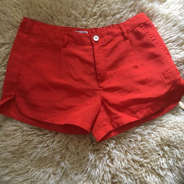 Short ( orange) good Condition