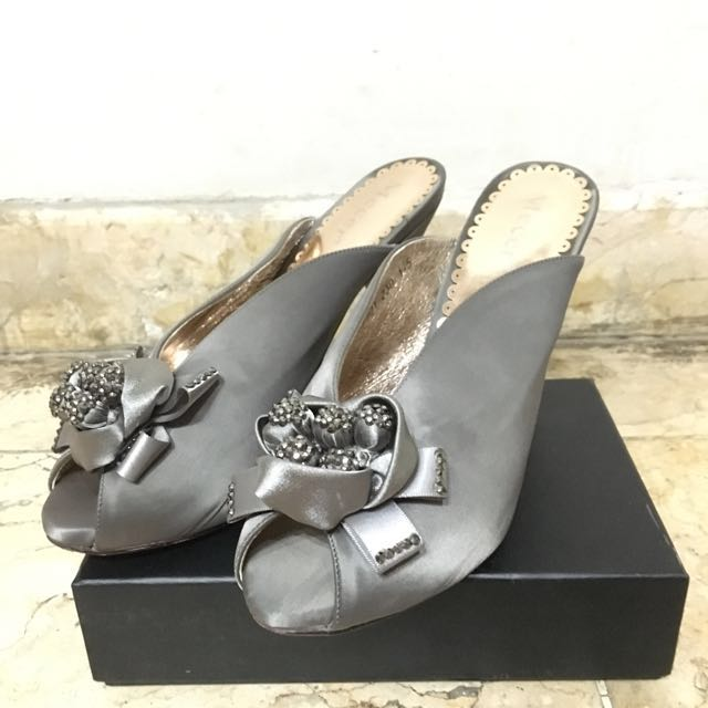 Silver Beauty Party Shoes