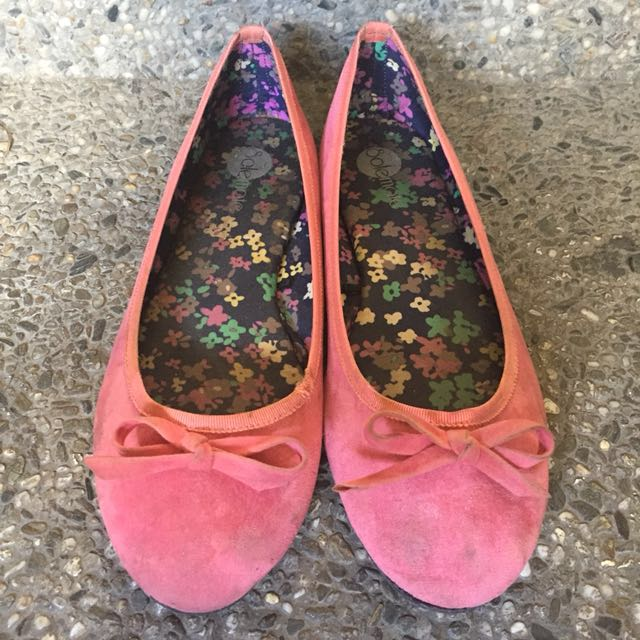 Solemate Pink Flats