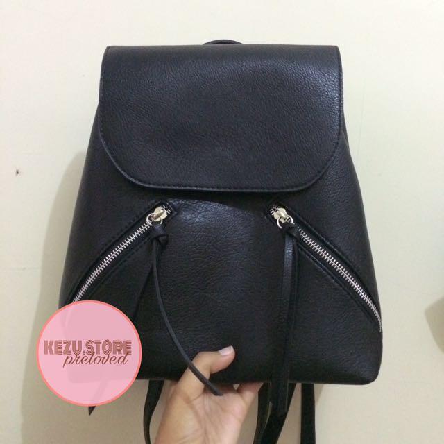 Stradivarius Black Backpack