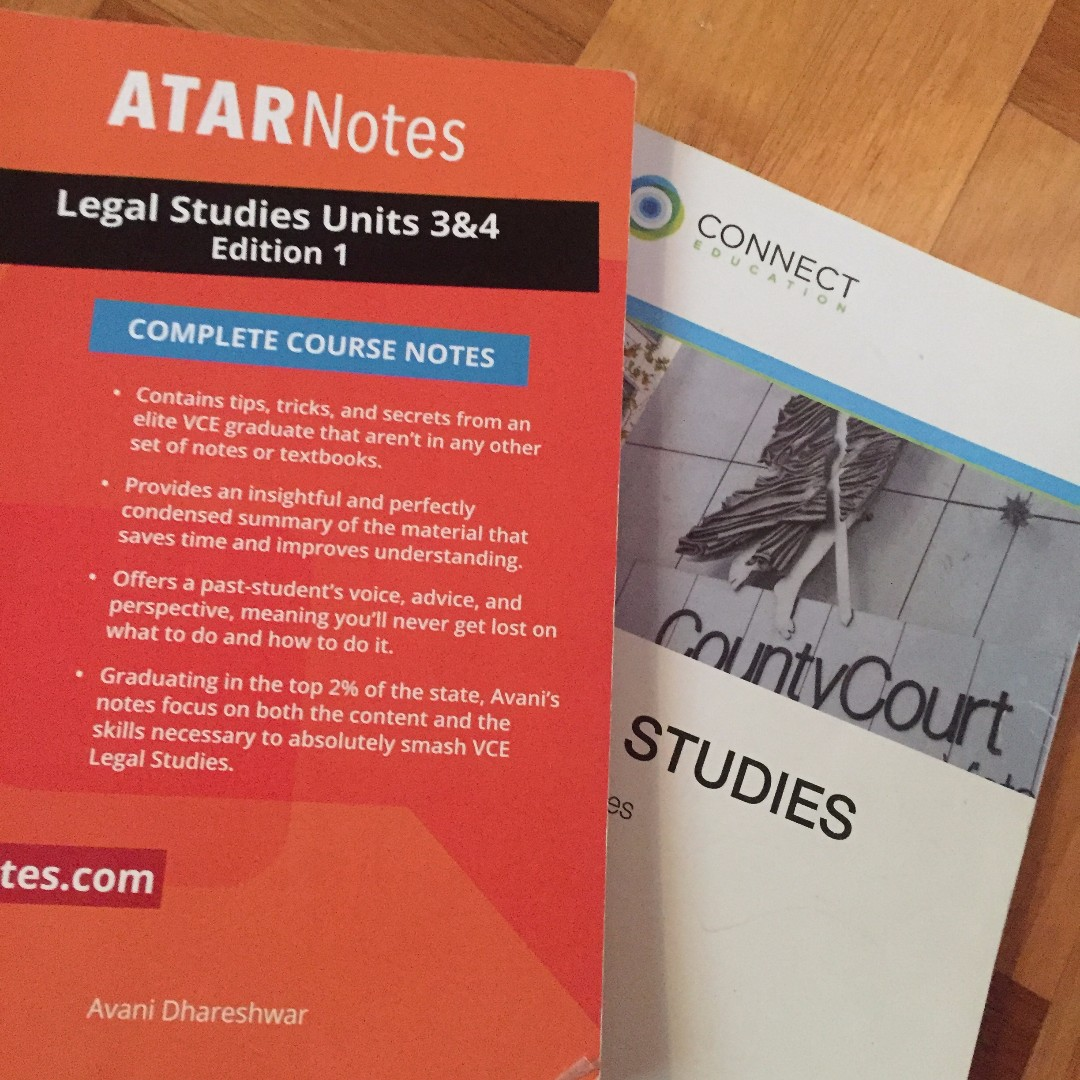 SUPPLEMENTARY RESOURCE NOTES (ATAR NOTES & CONNECT EDUCATION