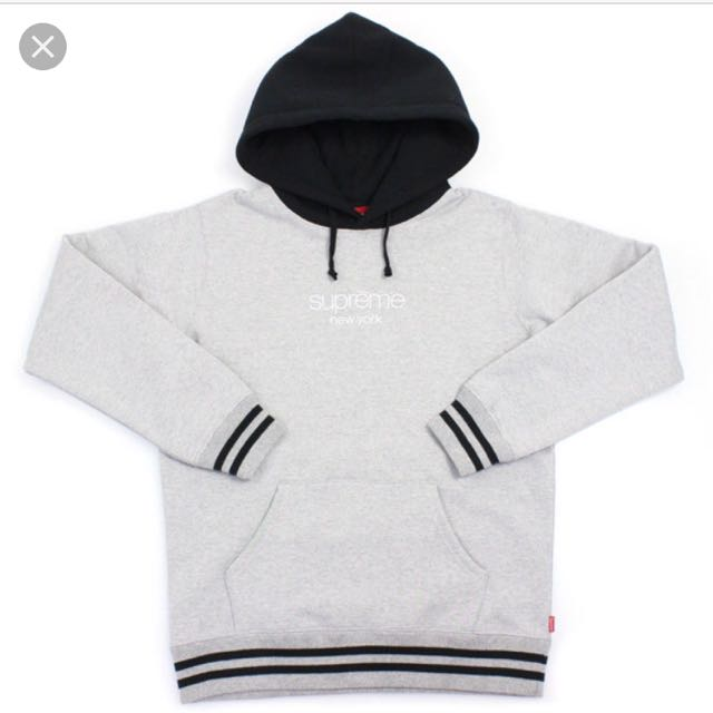 Supreme 15AW Classic Logo Hooded