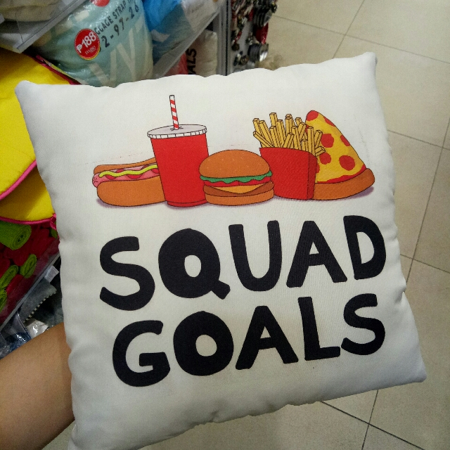 (SWIPE RIGHT FOR OTHER DESIGNS) SUPER CUTE 😍😍😍 SQUAD GOALS FAST FOOD (pizza coke burger fries) CERTIFIED FOOD LOVER (Ramen) KEEP CALM AND HAVE COFFEE (mug) pillows