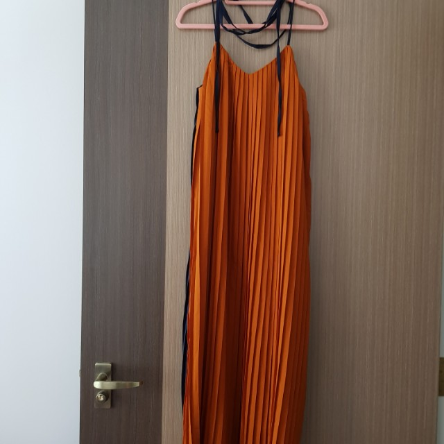 TCL Blonda Two Way Dress in Rust/Navy