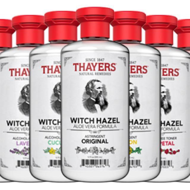 Thayer's witch hazel Toner 335ml # free postage