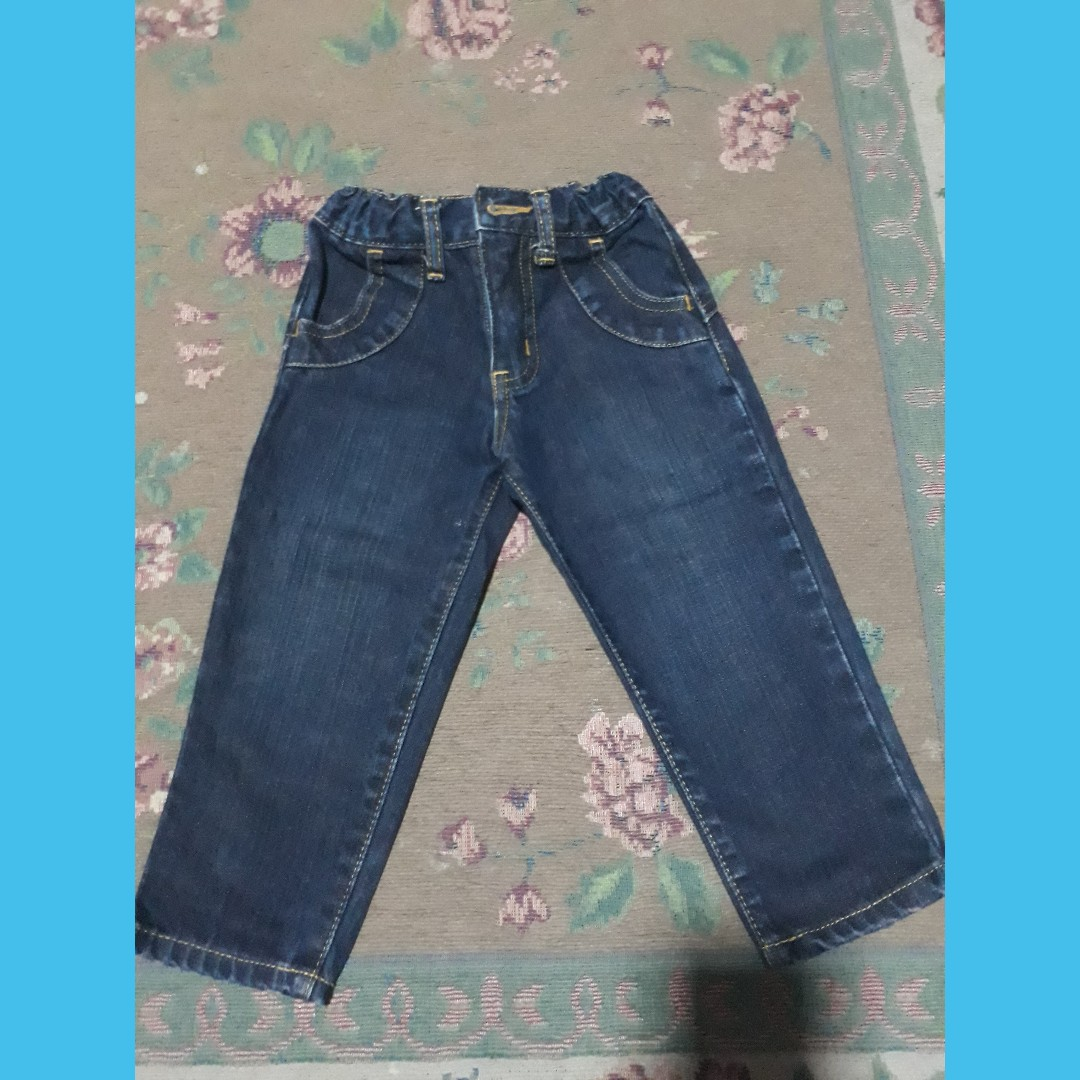 Toddler denim pants