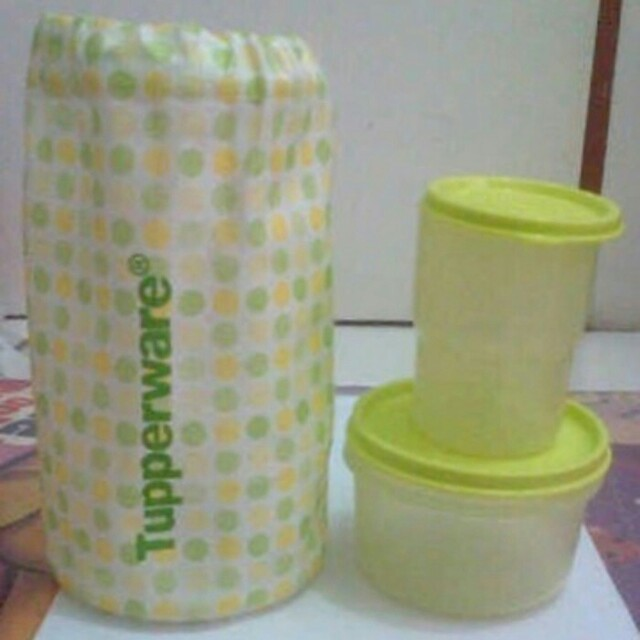 Tupperware Lunch set limited ramset