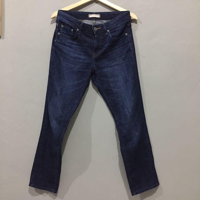 Uniqlo Jeans Blue Wash