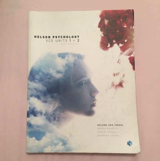 VCE psychology 1&2 text book