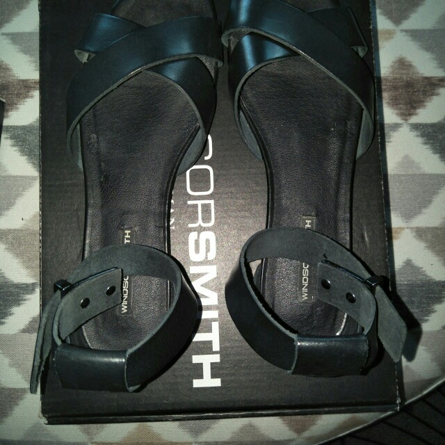 Windsor Smith Sandals (Black)