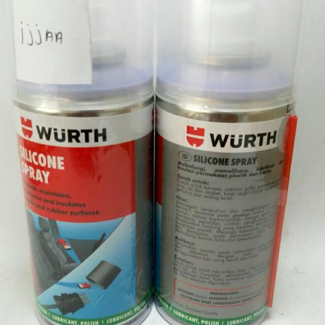 WURTH SILICONE SPRAY MADE IN GERMANY 150ML