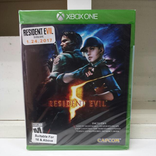 XBOX One Resident Evil 5